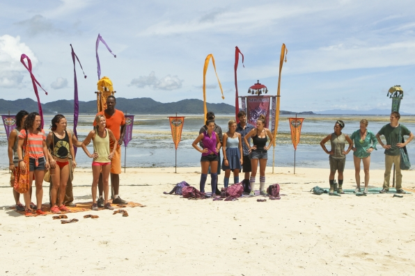 The castaways in Season 28 Episode 4