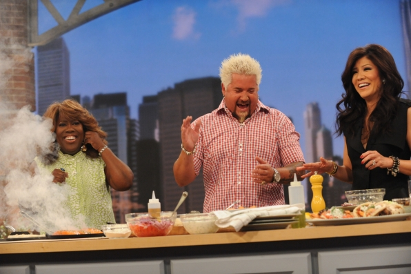 Cooking with Guy Fieri