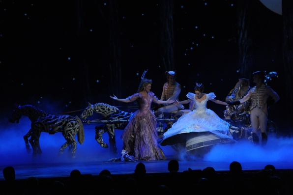The cast of Rodgers and Hammerstein's Cinderella