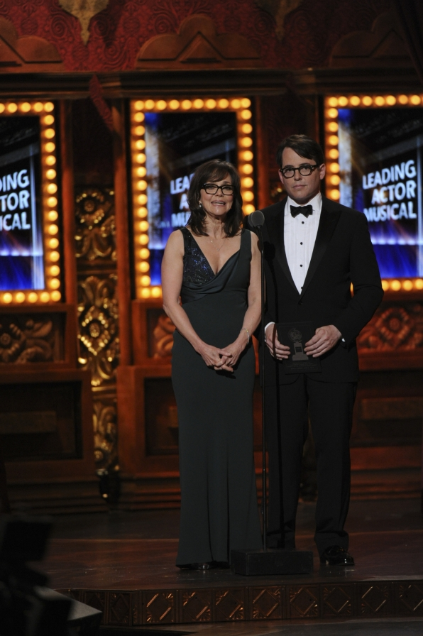 Sally Field and Matthew Broderick
