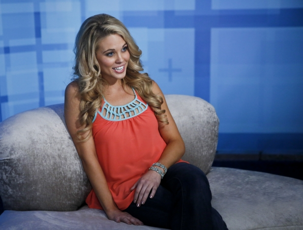 Aaryn in the Diary Room