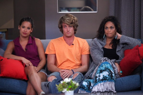 Jessie, David and Candice