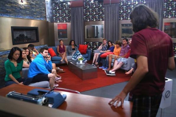 McCrae in the PoV Ceremony