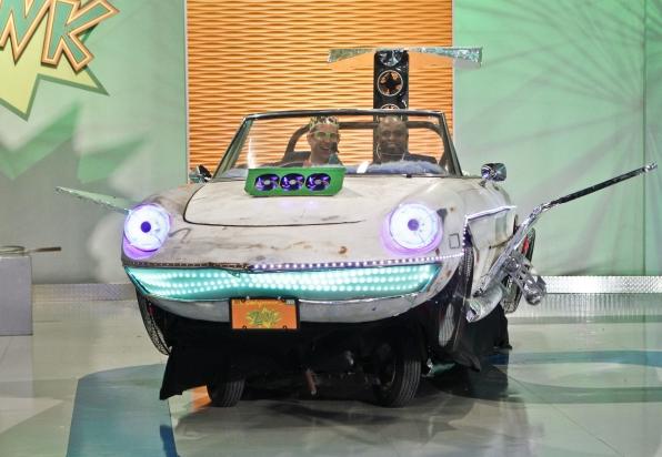 Homemade Flying Zonk Car