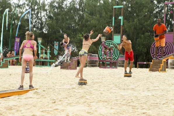 Immunity challenge in Episode 2 Season 28
