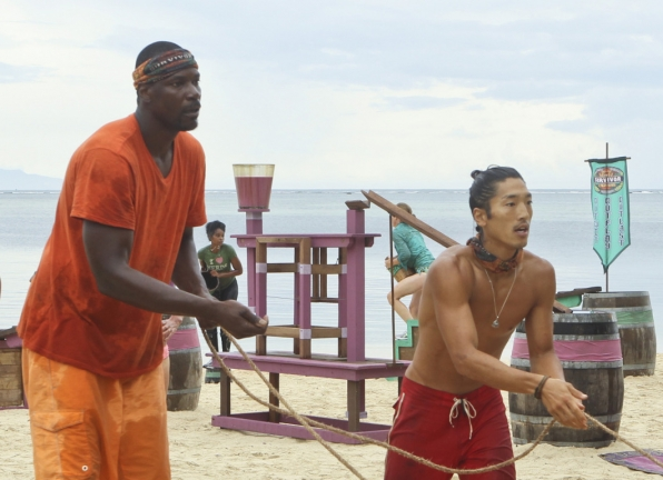 8. Cliff and Woo - Survivor