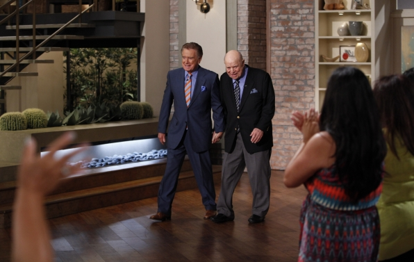 Don Rickles and Regis