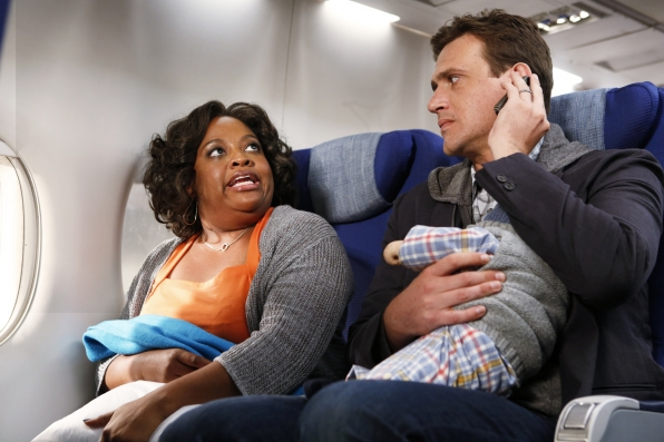 "Plane mates in ""The Locket"" Episode 1 of Season 9"