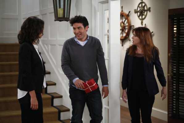 "Robin, Ted & Lily in ""The Locket"" Episode 1 of Season 9"