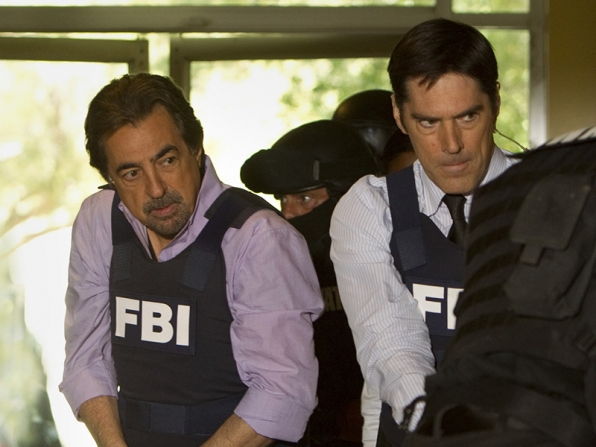 2. Aaron Hotchner and David Rossi - Criminal Minds