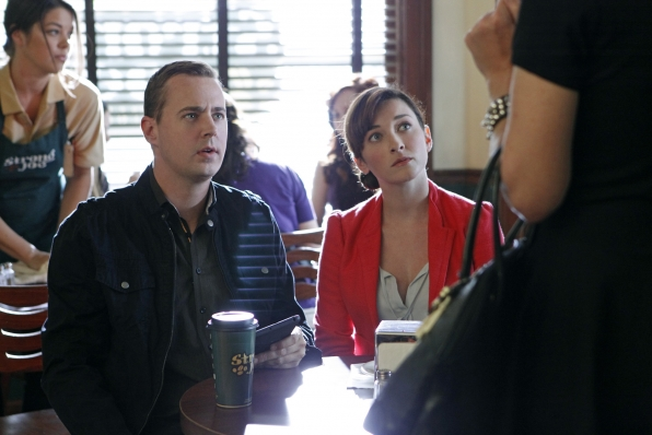 7. McGee and Delilah - NCIS