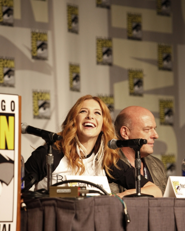 Rachelle Lefevre at Comic-Con 2013