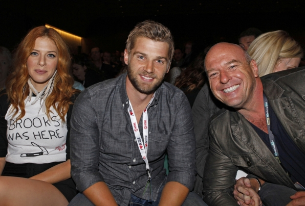Rachelle Lefevre, Mike Vogel, and Dean Norris