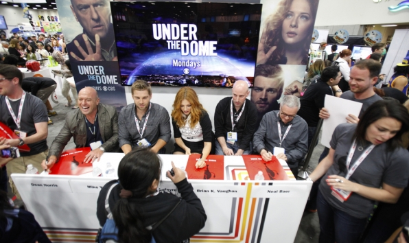 The Cast of Under The Dome
