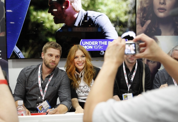 Mike Vogel and Rachelle Lefevre