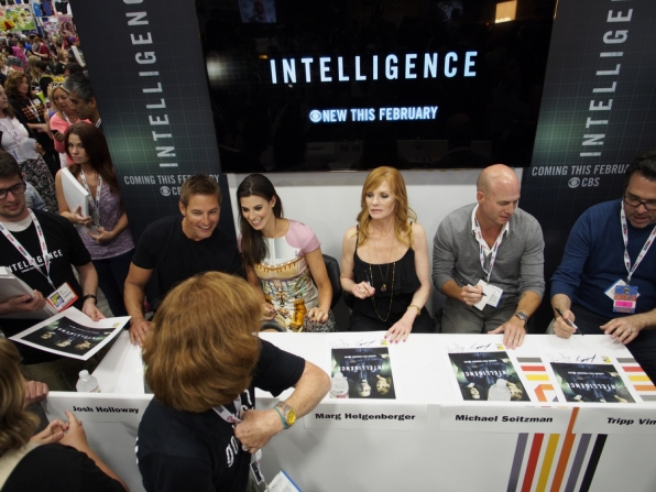 Intelligence Autograph Signing