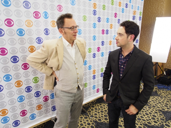 Michael Emerson Talks
