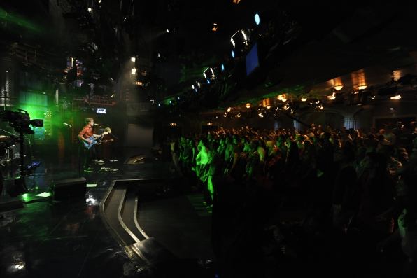 The Live on Letterman Audience