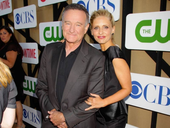 Robin Williams & Sarah Michelle Gellar