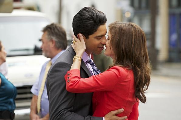 Adam Rodriguez as Preston Cruz and Anna Wood as Jamie Sawyer