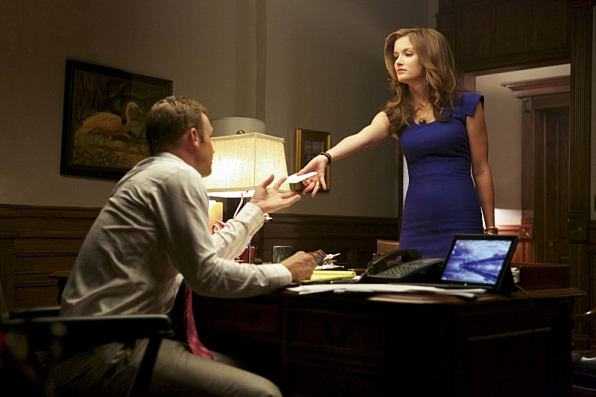 """2. When Jamie let Roy know she would know """"exactly how to work him."""""""