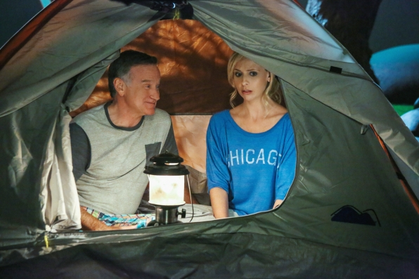 "Camping in ""Bad Dad"" Episode 3 of Season 1"