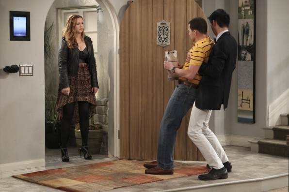 2. Jenny and Allen - Two and a Half Men