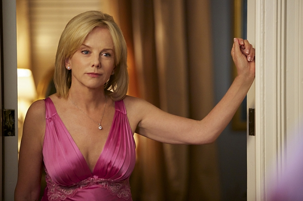 "Linda Purl as Barbara Fortnum in ""Blind Sides"" S1 E4"