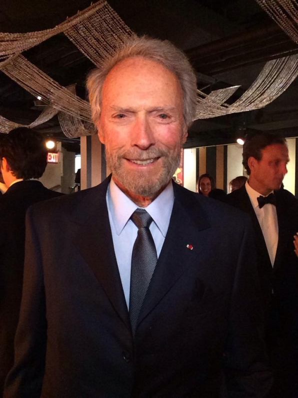 3. Clint Eastwood - Backstage at the Tony Awards