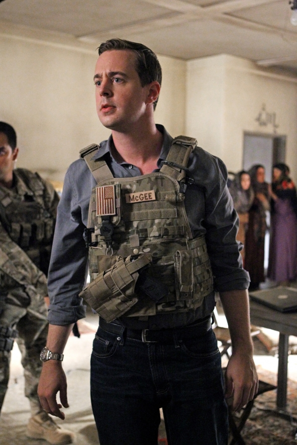 """McGee in """"Anonymous Was a Woman"""" Season 11 Episode 4"""