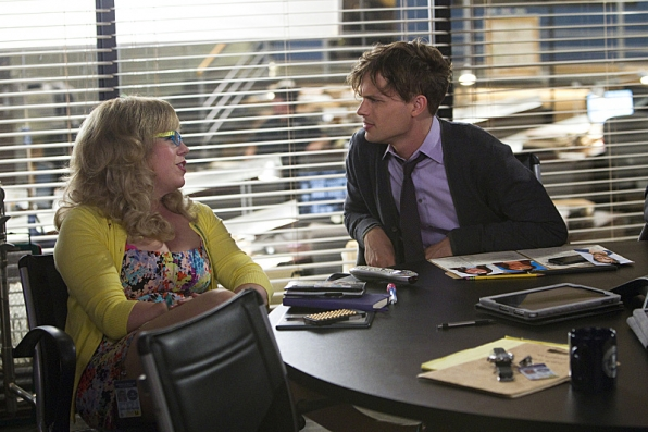The answer is: Penelope Garcia and Dr. Spencer Reid.