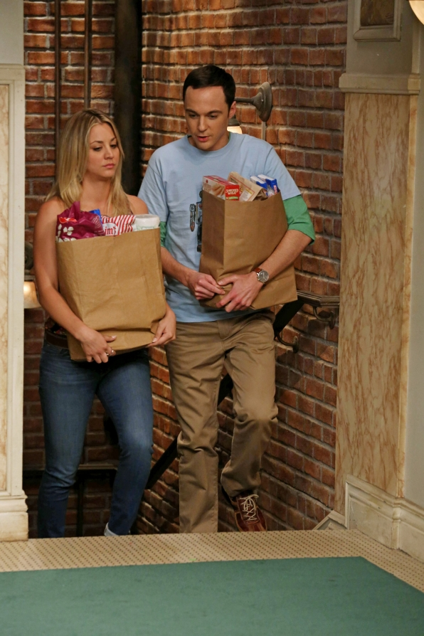 "Penny & Sheldon in ""The Deception Verification"" Episode 2 of Season 7"
