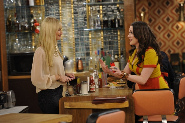 "2 Broke Girls in ""And The Kickstarter"" Episode 2 of Season 3"