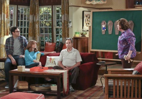 "Family meeting in ""Plot Twists"" Episode 2 of Season 1"