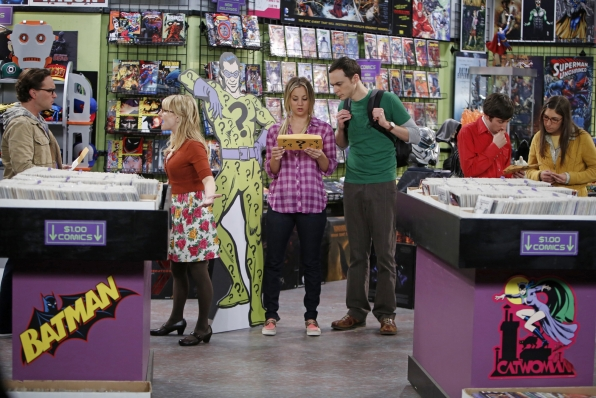 5. Leonard, Bernadette, Sheldon, Penny, Howard and Amy - The Big Bang Theory