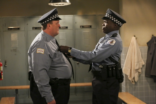 3. Mike and Carl - Mike & Molly