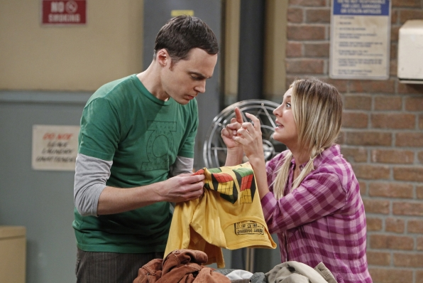 "Sheldon & Penny in ""The Scavenger Vortex"" Episode 3 of Season 7"