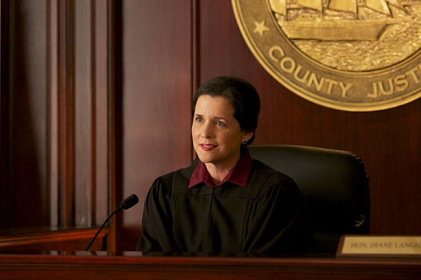 "Mary Dudley as Judge Diane Langham in ""Bloodstone"" S1 E5"