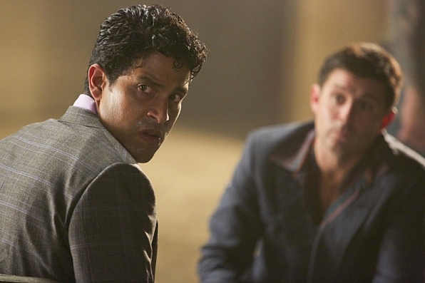 Adam Rodriguez as Preston Cruz and Rick Gomez as Russ Waterman