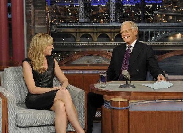 Toni and David Letterman