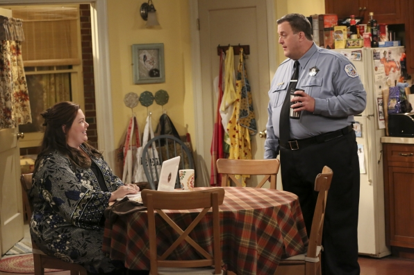 "Mike & Molly in ""Sex and Death"" Episode 3 of Season 4"