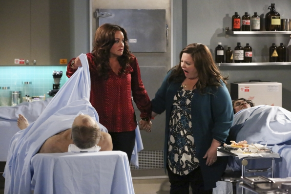 6. Molly and Victoria - Mike & Molly
