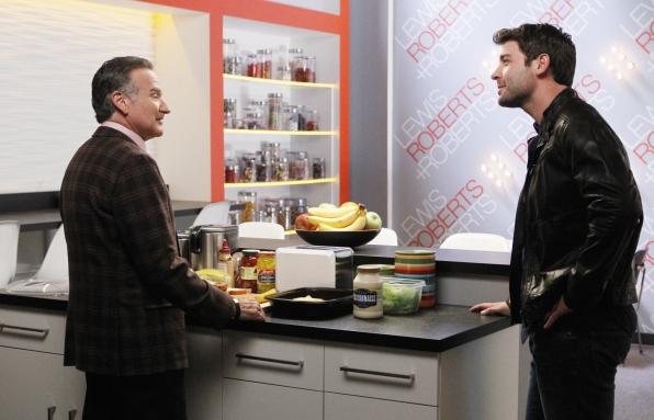"Kitchen conversation in ""She's So European"" Episode 5 of Season 1"