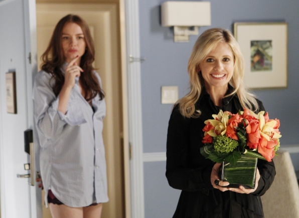 "Flowers for a friend in ""She's So European"" Episode 5 of Season 1"