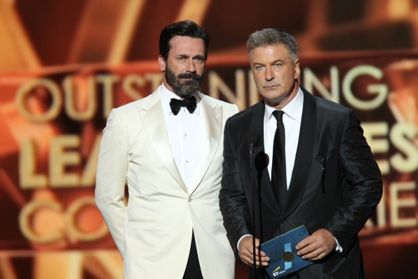 Jon Hamm and Alec Baldwin