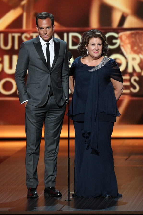 Will Arnett and Margo Martindale