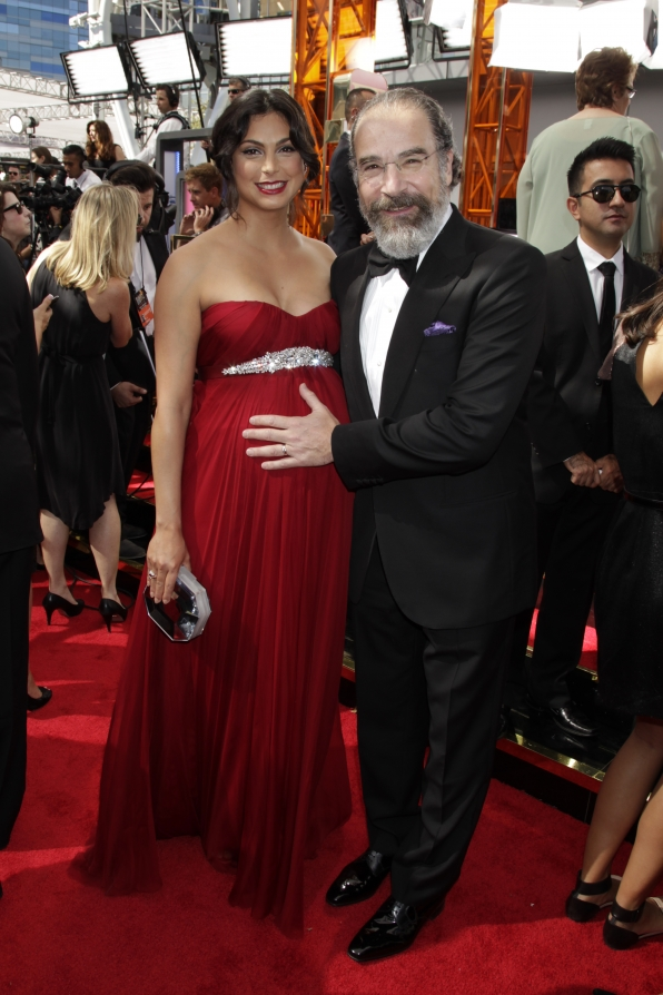 Morena Baccarin and Mandy Patinkin