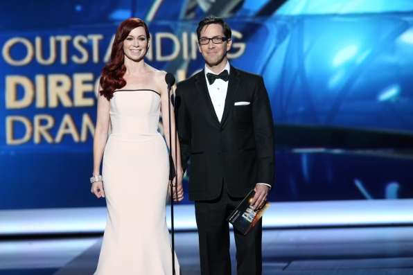 Carrie Preston & Dan Bucatinsky