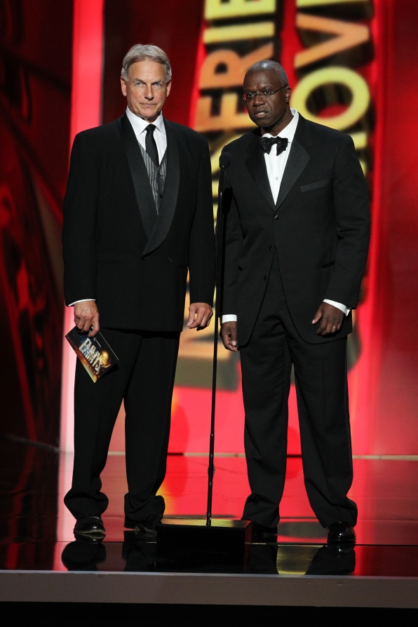 Mark Harmon and Andre Braugher