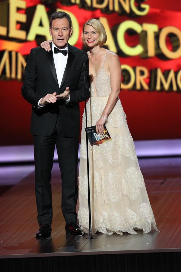 Bryan Cranston and Claire Danes